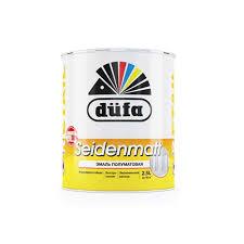 Полуматовая белая <b>эмаль Dufa Retail</b> Seidenmatt, 2.5 л купить