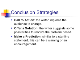 How to write a conclusion SlideShare