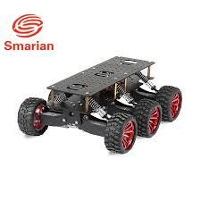 6WD search rescue platform <b>smart car chassis</b> damping off road ...