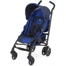 <b>Chicco</b> Lite way - <b>прогулочная коляска</b>-трость Blue/синий (с ...