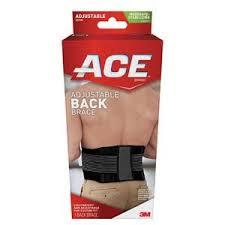 Ace One Size <b>Adjustable Back Brace</b>-207744 - The Home Depot