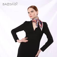 100% Silk Satin <b>53*53cm</b> Mini <b>Square Scarf</b>, Fashion Luxury Brand ...