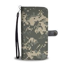 <b>Military Army Camouflage</b> [<b>Camo</b> Pattern] Wallet <b>Phone</b> Case | <b>Cell</b> ...