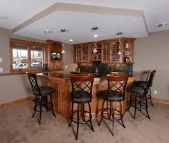 inspiring home interior look using simple bar designs classy home interior look using rectangular brown charming home bar design
