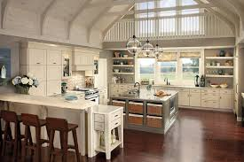 Rustic Farmhouse Kitchens Pendant Lighting For Vaulted Ceilings Farmhouse Kitchen Island