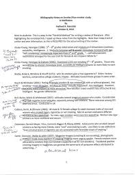 Annotated Bibliography Samples  College of Arts and Sciences