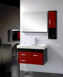 cabinet contemporary bathroom