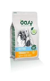 <b>Cat</b> products line Kitten Chicken - <b>Dry</b> food <b>Oasy</b>