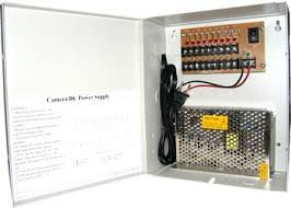 <b>Security Camera</b> Power Distribution Box <b>12V DC</b>