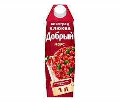 <b>Морс Клюква Добрый</b>, цена – купить с доставкой в официальном ...