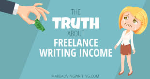 Salary Scales for Freelance Writers   Our Everyday Life LetterPile Freelance writer typing on laptop