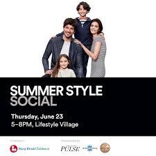 <b>Summer Style</b> Social to Benefit Stony Brook <b>Children's</b> Hospital ...