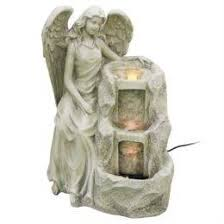 <b>Фонтан</b> с подсветкой <b>Haomei Fountain</b> ангел 43х38хh59 (3442088 ...