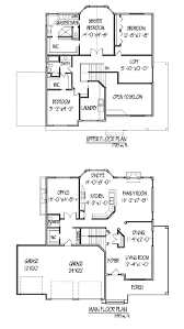 Astonishing Effective Two Story House Plans to Give More Spaces        Architecture Large size Stunning Two Story House Plans Man And Upper Floor Plan Architecture