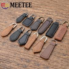 10Pcs <b>Detachable</b> 3# <b>5</b># <b>Metal</b> Zipper Pullers for Zipper Sliders ...