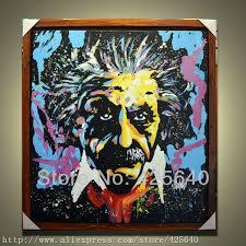 Image result for Schilderijen met Einstein