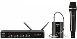 <b>AKG DMS</b> TETRAD MIXED SET 4/2 EU - цифровая <b>радиосистема</b> ...