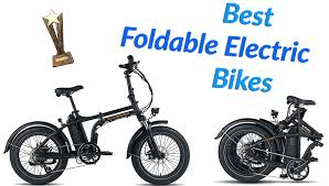 THE 8 BEST <b>Foldable</b> Electric <b>Bicycles</b> - What To Expect in 2021?