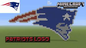 Minecraft: Pixel Art Tutorial and Showcase: New England Patriots ...