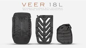 <b>VEER 18</b> | Packable Bag And Inflatable Camera Protection by ...