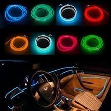 aliexpresscom buy 3m el decorative strip light car interior lights ambient lighting retrofit body trim interior led cold light from reliable light stamp ambient interior lighting