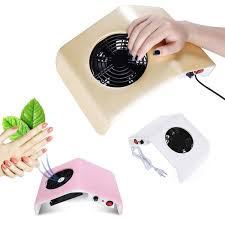 <b>30W Nail</b> Dust Collector <b>Manicure Vacuum Cleaner</b> UV Gel Tip Dust ...