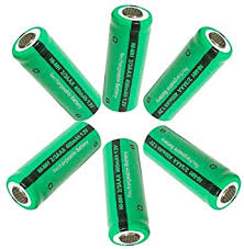 <b>2/3 AAA</b> 400mah 1.2V NiMH Rechargeable Battery Up To 1200 ...