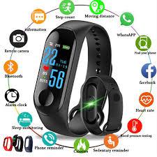 2019 New Women Sport Waterproof Smartwatch Blood Pressure ...