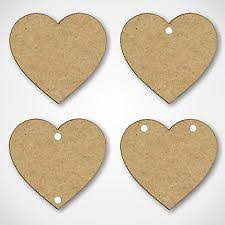Blank Wooden <b>Hearts</b> in Other Scrapbooking Embellishments for ...