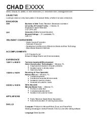 journalism resume examples   entertainment and media resumes    brandon f    television and radio resume   orlando  florida