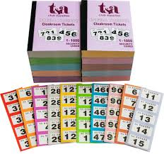 thomas and anca cloakroom raffle tickets numbers  cloakroom raffle tickets 1 1000 pack 10