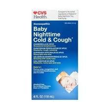 HYLAND'S <b>BABY</b> NIGHTTIME <b>TINY COLD</b> SYRUP - CVS Pharmacy