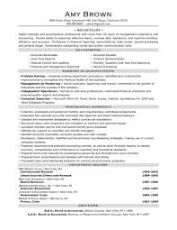 good accountant resume example writing resume sample accountant resume sample by amy brown