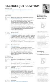 librarian resume samples   visualcv resume samples databasevolunteer online reference librarian resume samples