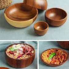 Japanese Vintage <b>Large Capacity Rice</b> Wood Bowls | Shopee ...