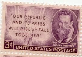 「the first Joseph Pulitzer award works」の画像検索結果