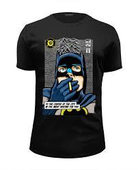 "<b>Футболка</b> Wearcraft Premium Slim Fit ""Бэтмен"" #581692 от printik ..."