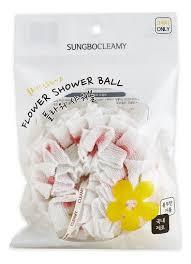<b>Мочалка для душа Clean</b> &amp; Beauty Flower Shower Ball