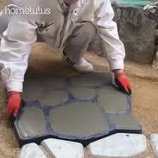 Shop Now>>$36.77 USD <b>DIY Plastic Path</b> Maker Mold [Video ...