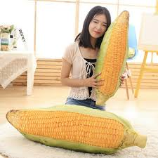 <b>30</b>-<b>100cm</b> Cartoon Christmas present Corn Plush Toys Stuf for sale