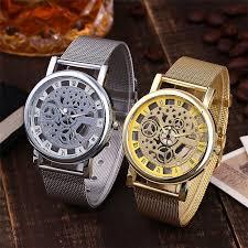 [huxie] popular <b>new</b> hollow gear Roman watch hollowed out ...