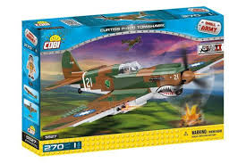 Конструктор Cobi 5527 <b>Американский истребитель Curtiss</b> P-40 ...