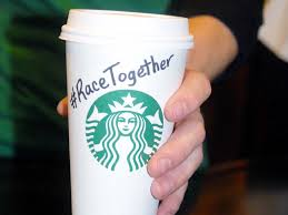 racetogether a different perspective on starbucks so called starbucks dropped its campaign to encourage dialogue around race photo courtesy of starbucks