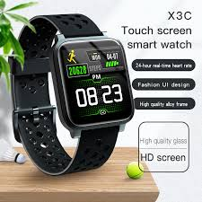 2020 <b>X3C Smart Watch</b> APP GPS Route IP68 Waterproof Weather ...