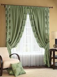 Купить <b>комплект штор</b> «<b>Ларон</b> (зелен.)» зеленый по цене 8280 ...