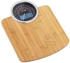 Eva Digital Scale Analog Scales <b>Bamboo 180</b> kg Div 100 <b>gr</b> ...