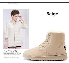 <b>Women</b> Boots 2019 <b>New Snow Boot</b> Suede Plush Ankle Boots ...