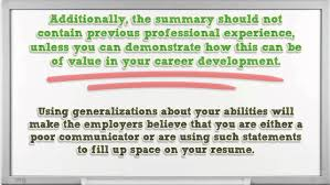 how to write a professional summary for your resume resume reviews how to write a professional summary for your resume resume reviews