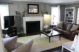 Paints Colors For Living Room Nice Living Room Painting Ideas Brown Furniture With Room Grey