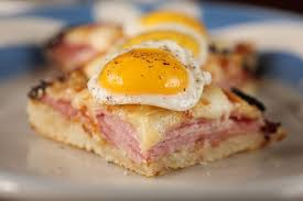Image result for sanduiche Croque madame